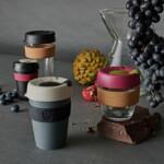KeepCup Cork Οικολογικό ποτήρι καφέ Press 12oZ/340ml