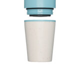 rcup Ποτήρι καφέ 227ml – cream and teal blue