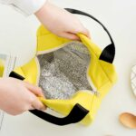 Ισοθερμική τσάντα φαγητού Little fish γκρι