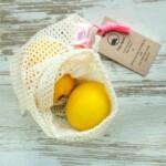 Bag-again® original δίχτυ τροφίμων από βιολογικό βαμβάκι Small 17cm x 25cm