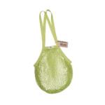 Τσάντα δίχτυ με μακριά λαβή από βιολογικό βαμβάκι – Lime – Casa Organica