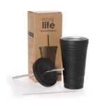 Ecolife Thermos Cup 480ml – Black