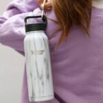 Healthy Human ανοξείδωτο ισοθερμικό παγούρι Stone White 21oz (621ml)