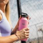 Healthy Human ανοξείδωτο ισοθερμικό παγούρι Petal Pink 32oz (946ml)