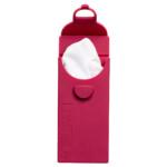 Last Tissue Red – Επαναχρησιμοποιήσιμα Μαντηλάκια με θήκη σιλικόνης