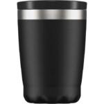 Chilly's Coffee Cup Ισοθερμικό Ποτήρι Καφέ από Ανοξείδωτο Ατσάλι Black 340ml