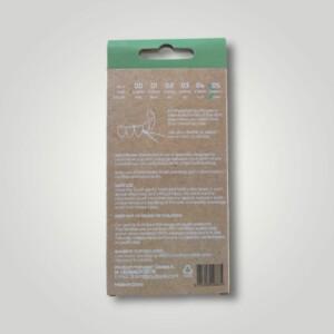 Bemyflower μεσοδόντια από φυσικό μπαμπού Green 0.80mm