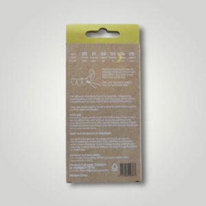 Bemyflower μεσοδόντια από φυσικό μπαμπού Yellow 0.70mm