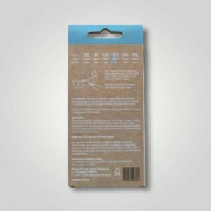 Bemyflower μεσοδόντια από φυσικό μπαμπού Blue 0.60mm