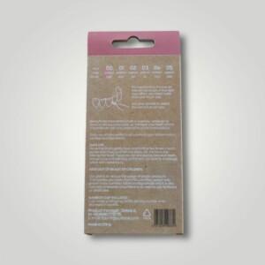 Bemyflower μεσοδόντια από φυσικό μπαμπού Pink 0.40mm