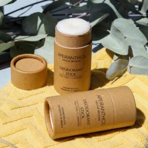 Apeiranthos Deodorant stick   Tea tree + Lavender 30gr