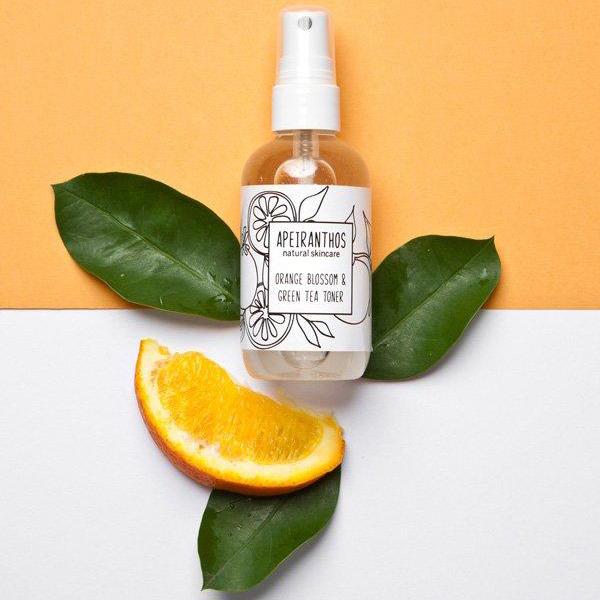 Orange toning mist   Orange blossom + Green tea 100ml