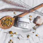 Flower powder mask | Yellow clay + Rosehip