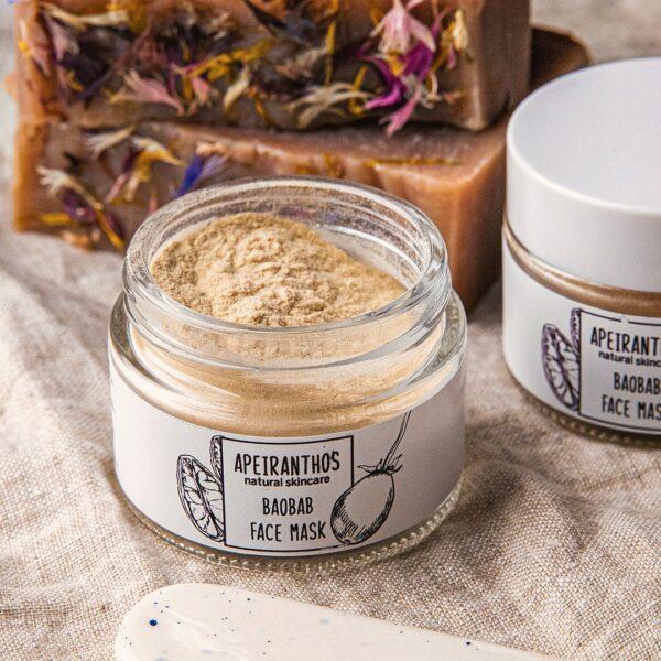 Apeiranthos Baobab mask   Organic baobab powder 50gr