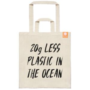 goodbag Τσάντα 20g less plastic in the ocean