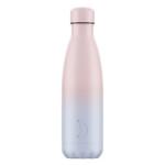 Chilly's ανοξείδωτο ισοθερμικό μπουκάλι Gradient Blush 500ml