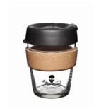 KeepCup Sea Shepherd Brew Cork Οικολογικό ποτήρι καφέ 12oZ/340ml Black