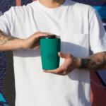 Cool Bottle Tumbler Ισοθερμικό ποτήρι καφέ – Vivid Quetzal