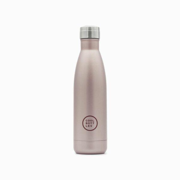 Cool Bottle ανοξείδωτο ισοθερμικό παγούρι Metallic Rose 500ml